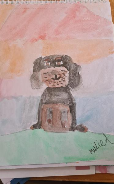 Millie's painting