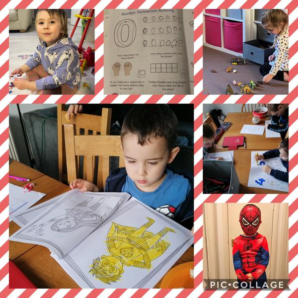 Home learning 😀