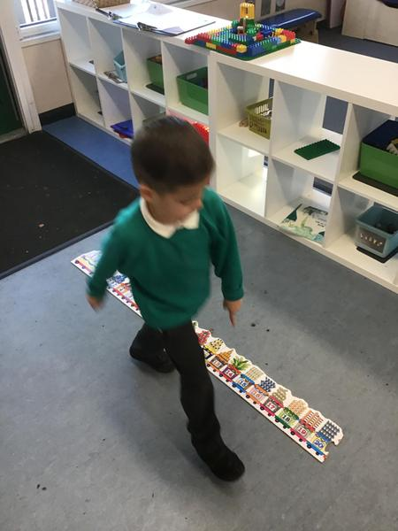 Excellent number sequencing!