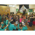 We were extremely excited to welcome Footprints Theatre Company into school to perform a story telling of 'A Really Mice Christmas'. The children in our Nursery participated in the storytelling beautifully.