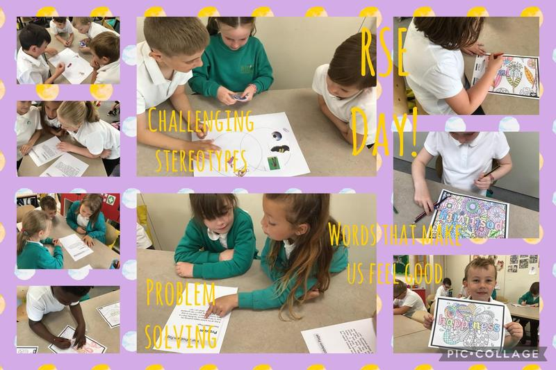 We were so impressed with the children's mature attitudes to our discussions on RSE Day.