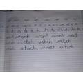 Olivier's handwriting