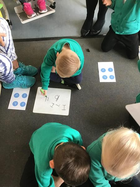 Excellent concentration during phonics