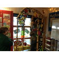 The children in class Friar have been working with local artist, Sarah Turner, to create a tunnel for light night-all made from recycled materials.