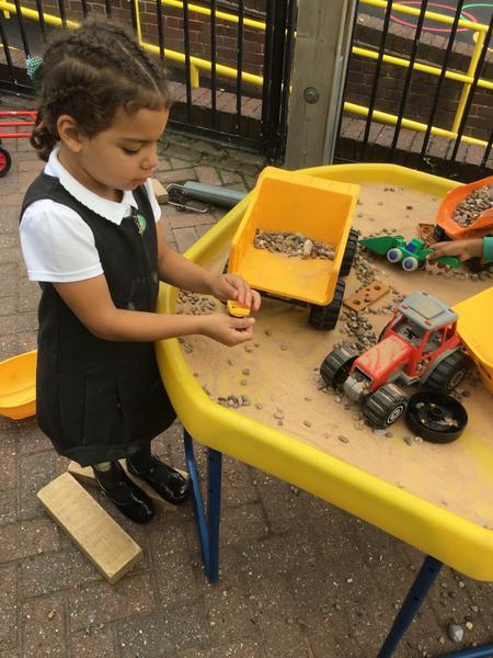 Small world construction.