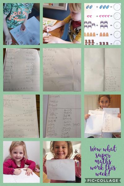 What super maths work this week!