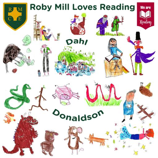 Roby Mill's We Are Reading Trail
