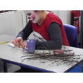 Making a picture frame inspired by 'The Stick Man'.
