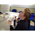 We investigated reflection of light.