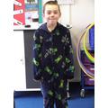 Pyjama boy!