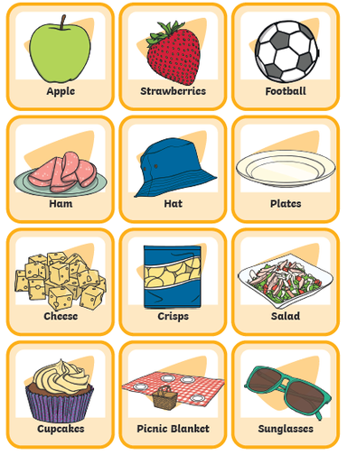 Lots of games to play! Make 2 copies and match the pictures, play pairs, memory game.