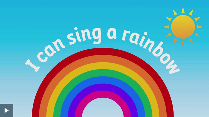 Practise singing and signing the different colours