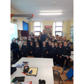 The children at Rockmount School, Ireland