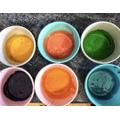 Kalina made a delicious rainbow roulade
