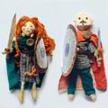 Seren's handmade Celtic dolls
