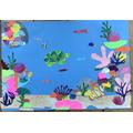 Seren's underwater collage