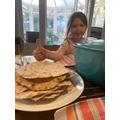 Making & Cooking Chapatis