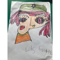 Lois's Picasso Style artwork