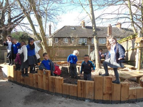 Check out Reception's new outdoor area!