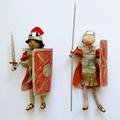 Seren's handmade Roman dolls