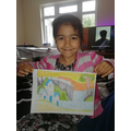 H has worked hard to create this wonderful picture