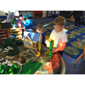 Re-telling Jack and the Beanstalk.