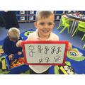 Writing new sounds we have learnt 'g'.