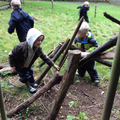 Reception - Forest School Den Building