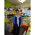 Hello I am Mrs Haworth and I work in Class RG.