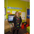 Hello I am Mrs Gibbons and I teach Class RG.