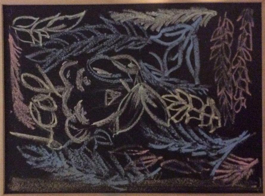 Hanaa's illustration based on the book 'Leaf'.