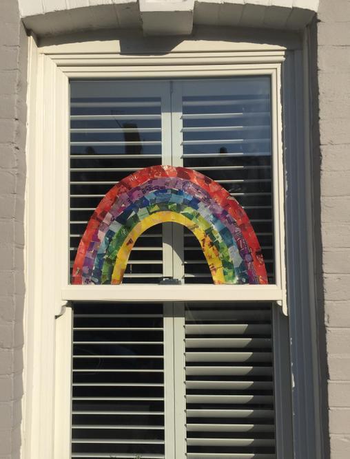 Fyfe's rainbow making us all smile.