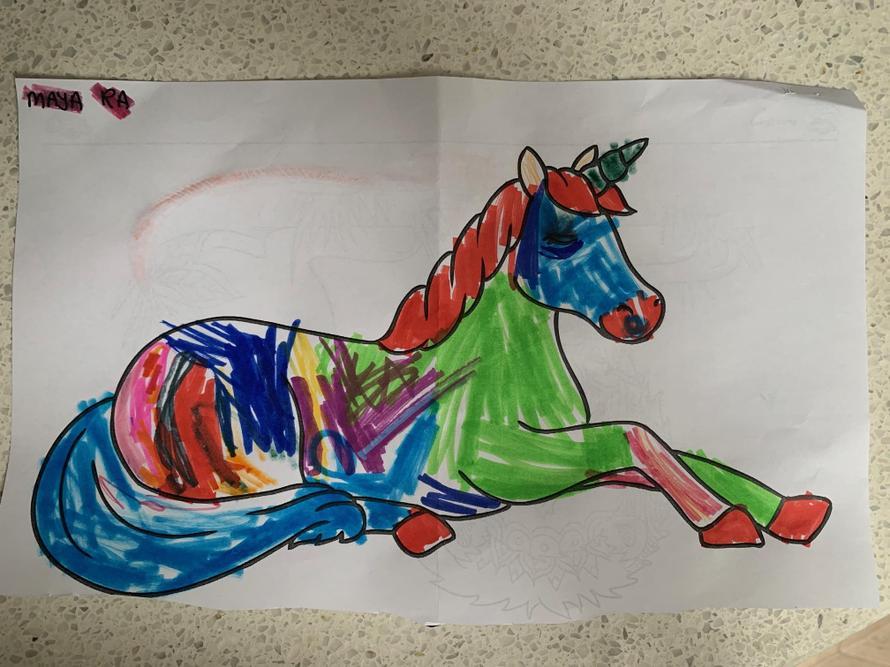 What a magical unicorn Maya!