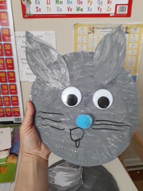 Filip's Easter bunny!