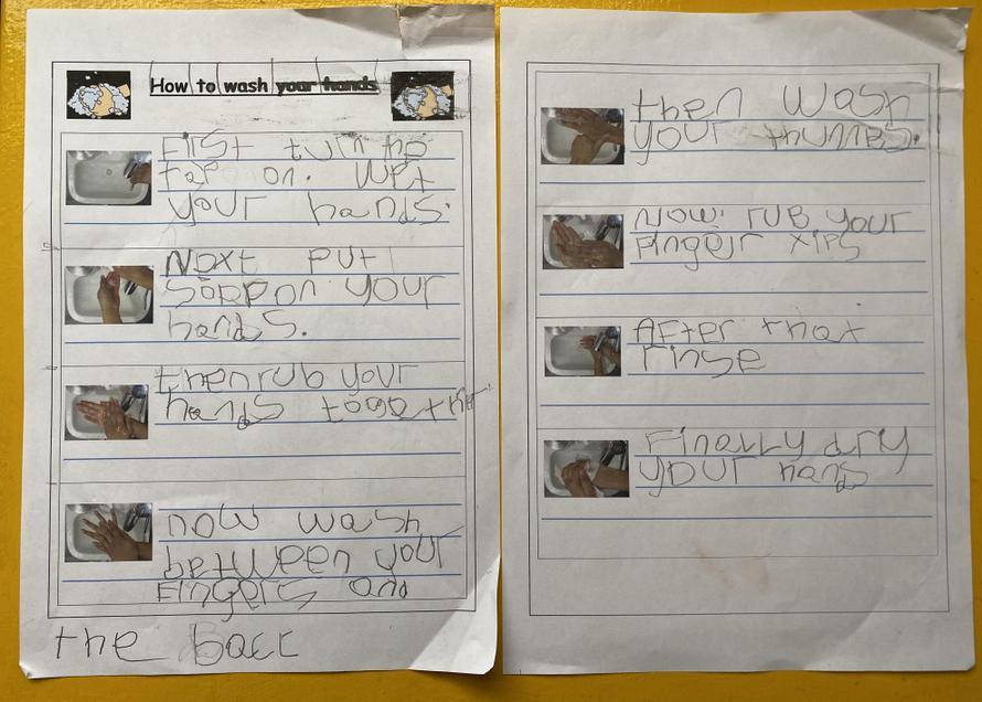 Fantastic instruction writing, Martha!