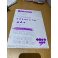 Amazing maths work from Zara!