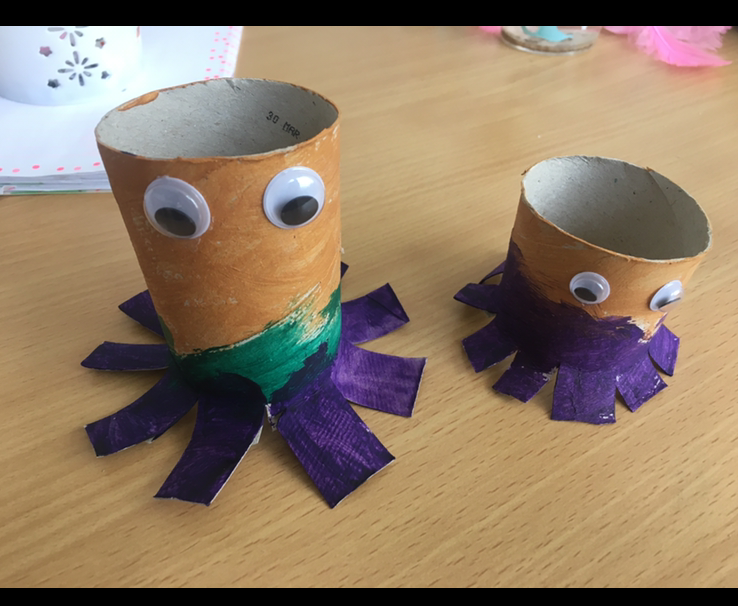 Sofia and Sara have been busy!