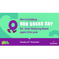 Odd socks to celebrate differences
