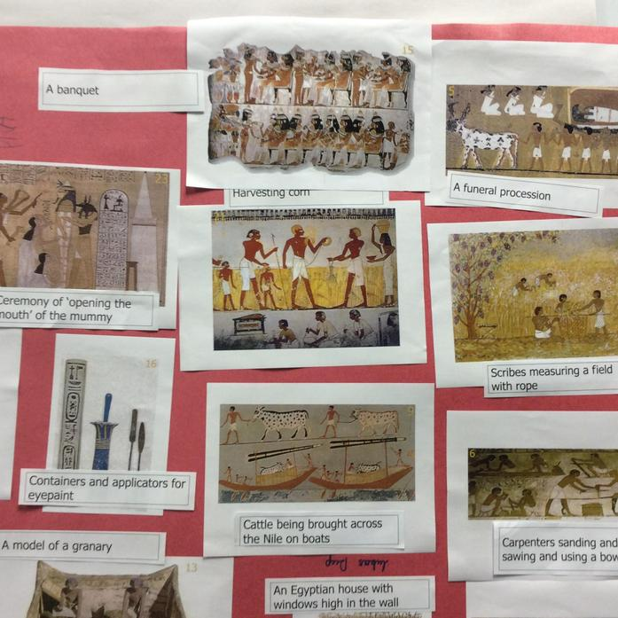 Captions for History Activity