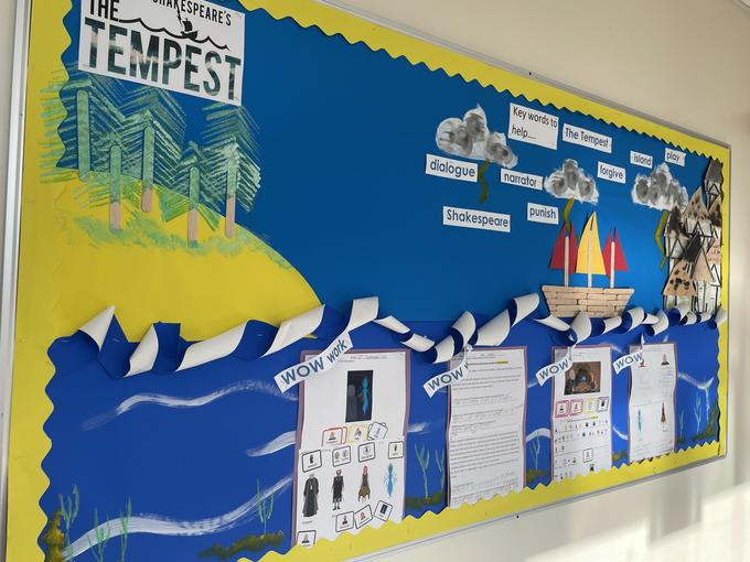 We have learned about the terrible storm which shipwrecked Prospero and Miranda.