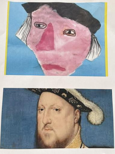 We have been learning about Henry VIII.