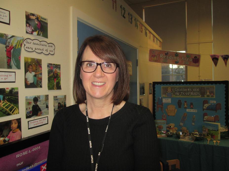 Mrs Hodgkinson - FS Leader and Nursery Teacher