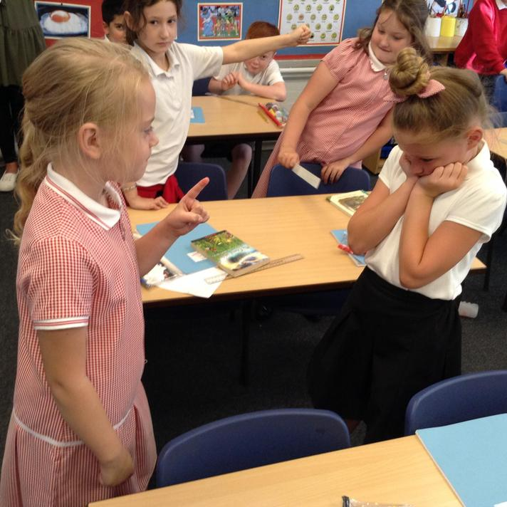 Using freeze frames to think about behaviour