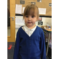 Felicity L in RW - For having a positive attitude everyday & making good progress in math