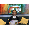 Brianna in 1W for being a homework hero