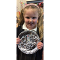 Erin M in 1R - For always trying hard with all her lessons