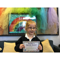 Ava Y in 2 R for always trying her best and being on task