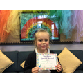 Maddison-Mai S in 2W - For excellent phonics work
