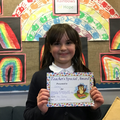 Lacey G in 5W for showing resilience and persevering in everything she does