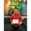 Hayden N in 6R - For producing fantastic work across the curriculum